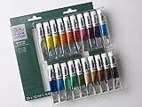 Winsor & Newton Winton Set iniciación óleo 20x12ml, Multicolor, 20 colores tubos de 12ml, 240