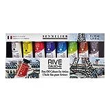 Sennelier Rive Gauche Fine Oil Color for Artists, 8 Colors, 40ml Each (10-130313-2)