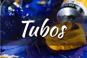 tubos y cajas de óleo